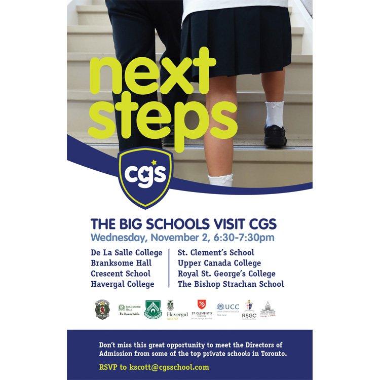 Big School Night Invite